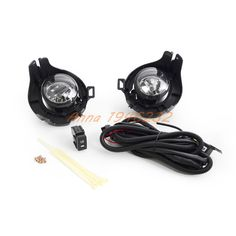 58.13$  Buy here - http://ali5ow.worldwells.pw/go.php?t=32707899948 - For Nissan NAVARA D40 Driving/ Fog Lights Lamps Complete Kit 2005-2014 58.13$