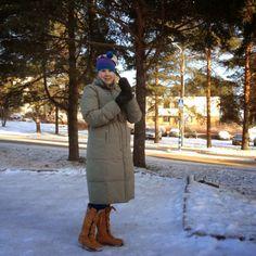BEAUTY IS MY TREASURE #winterstyle #coat #noanoa #timberland Canada Goose Jackets, Timberland, Winter Fashion, Winter Jackets, Photo And Video, Coat, Beauty, Winter Fashion Looks, Winter Coats