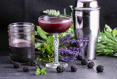 Brandy and Blackberry Lavender Shrub – A Brandy Cocktail