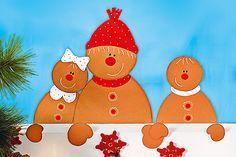 Unser Lebkuchen Fesnterbild ist einen super einfache Weihnachtsdeko zum Nachbasteln mit Kindern. Hier gibt es die Anleitung und die Vorlage zum gratis Download >>> © Christophorus Verlag