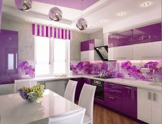 find this pin and more on ideas for the house purple kitchen decor - Purple Kitchen Decor