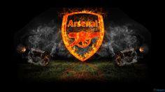 Arsenal FC Football Logo HD Wallpaper