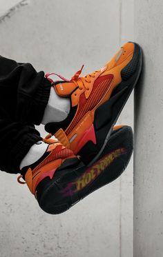 Hotwheels x Puma RS-X Sneakers Fashion, Sneakers Nike, Baskets, Streetwear Men, Footlocker, Adidas, Sport Wear, Puma, Nike Huarache
