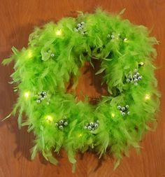 SHTOOK: Dr Seuss Wreath