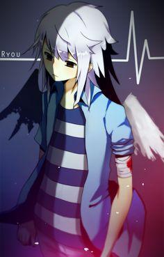 Ryou Bakura as Change of Heart Bakura Ryou, Change Of Heart, Kawaii, Female Characters, Anime Art, Deviantart, Libra, Pj, Cute Anime Guys