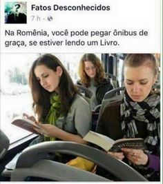 Okay, this isn't about libraries, but WOW. Romanian city offers free rides to people reading on the bus I Love Books, Good Books, Books To Read, My Books, Bts Memes, Funny Memes, Jokes, Percy Jackson, Toxic Love