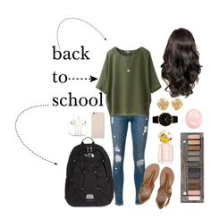 """back to school look #2"" by a-proch ❤ liked on Polyvore"