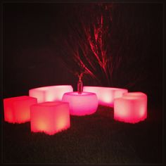 LED Furniture Illuminated Furniture Outdoor Furniture Houston Party Rentals Led Furniture, Lounge Furniture, Garden Furniture, Outdoor Furniture, Innovative Office, Interior Led Lights, Can Lights, Pink Room, Chill