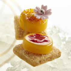 Lenôtre - Croq' Fleurs de Fruits http://www.lenotre.com/