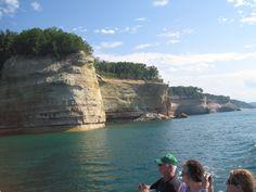 Upper Peninsula of Michigan, pictured rocks at Munising gorgeous