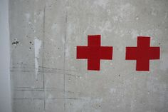 #concrete and  red tape