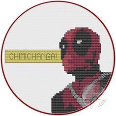 deadpool cross stitch - Bing images