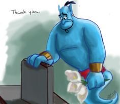 Robin Williams, I'll never have another friend like you. by ChristianKitsune on deviantART