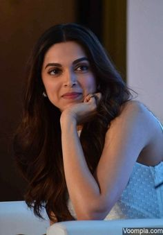 Deepika Padukone photographed looking gorgeous at a recent promotional event. via Voompla.com
