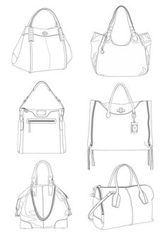 Purse Design Sketch Fresh 152 Best Draw It Images Photos Flat Drawings, Flat Sketches, Technical Drawings, Dress Sketches, Fashion Design Drawings, Fashion Sketches, Fashion Design Portfolio, Drawing Fashion, Drawing Bag