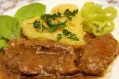 Good Food, Yummy Food, Meatloaf, Pork, Food And Drink, Menu, Cooking Recipes, Snacks, Chicken