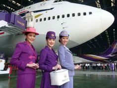 Stewardesses from All Over the World Thailand, Thai Airways