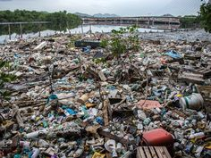Rio de Janeiro is rushing to clean up this garbage in time for the olympics.  Perhaps this will inspire some permanent green strategies for the city.