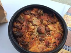 - The authentic Lefkaritiki Recipe for ttava. Lamb Cuts, Parboiled Rice, Goat Meat, Sliced Potatoes, Clay Pots, Artichoke, Paella, Cooking Time, Delicious Food