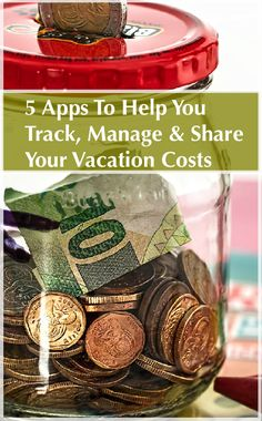 These 5 Apps will help you track and manage your vacation costs and share expenses with your travel companions.