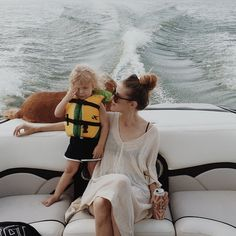 He reeeeally wanted to drive the boat.
