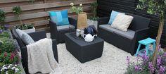 Is jouw tuin klaar voor de zomer? Zonder de loungeset is hij dat zeker niet! Deze geweldige set hoort thuis in iedere tuin!