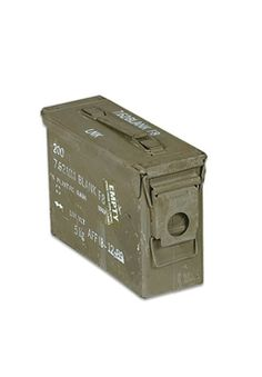Ammo Can 30 Caliber with Level-Lock Lid and Hand Carry Handle   Buy Now at camouflage.ca