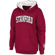 Stanford Cardinal Stadium Athletic Women's Arch Name Pullover Hoodie - Cardinal - $39.99