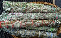 How to make your own white sage smudge wands
