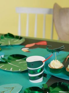 DECO ANNIVERSAIRE JUNGLE - JUNGLE PARTY BIRTHDAY DECORATION
