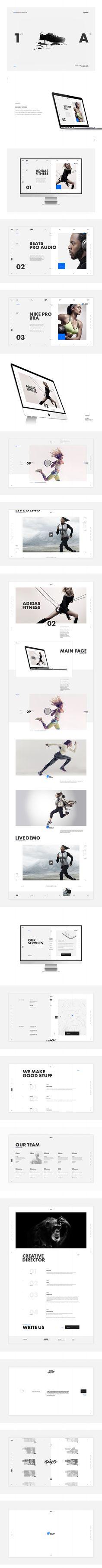 Klimov Design. Вебсайт + мобильная версия в стеке, Сайт © Лёша Юрков
