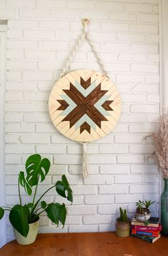 Scout - Round Macrame Wood Wall Art Hanging – Roaming Roots