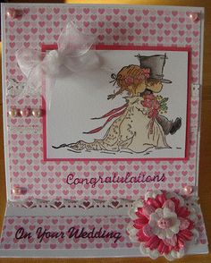 Lili of the Valley wedding card x
