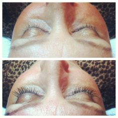 Before/After - Lash Extensions by Sheyanne (J.CON Salon-Gateway)