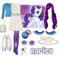 pony-rarity by thelovelyside, via Polyvore