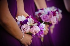 A Chic Purple and White-Themed Wedding at California's St. Regis Monarch Beach Resort : Brides