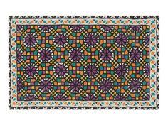 Wool rug with geometric shapes SMOOTH by GAN By Gandia Blasco