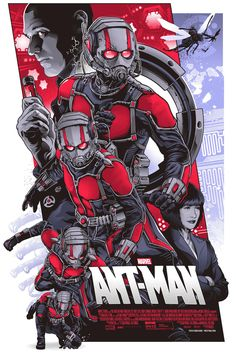 Ant-Man by  ALEXANDER IACCARINO