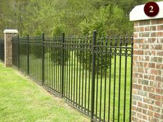 Wrought Iron Fencing Raleigh   Custom Aluminum Fences   Durham Metal Fabricating Company