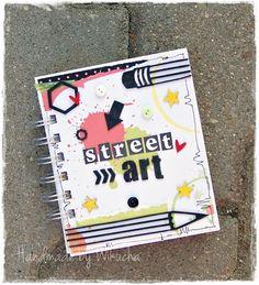 Mini scrapbook album (more photos on the blog)