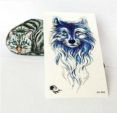 GC Oringin Design Cool Blue Wolf Back Waist Arm Waterproof Temporary Tattoo Sticker For Men SH-004 Origin Tattoo Sticker http://www.amazon.com/dp/B00KUK88EU/ref=cm_sw_r_pi_dp_bhjVvb0AYFT1C