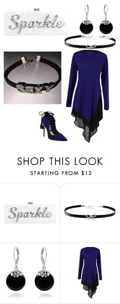 """SEXY!"" by quasia-taylor on Polyvore featuring Edie Parker, Giani Bernini, Bling Jewelry and Schutz"