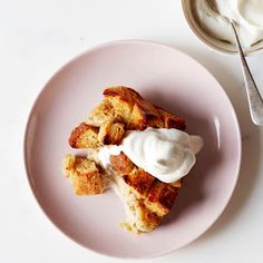 Honey (instead of white sugar) sweetens fruity, cinnamon-infused bread pudding. With all the flavors of some breakfast-time favorites, who says it doesn't belong at the breakfast table? Recipe: Honey-Cinnamon Banana Bread Pudding   - Delish.com
