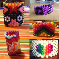 Kandi Cuffs for sale. $5 +/- contact me if you're I interested.