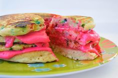 Funfetti Birthday Pancakes Cake.  I need it to be my bday NOW so I can have these!