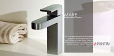 Armaturenserie Mare | Fantini | Designer: Franco Sargiani | Badarmaturen aus Pella im Piemont | baederdesign.info