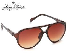 Louis Philippe needs no introduction in terms of design and elegance. It is noted for its dynamism and superb quality. This pair of sunglasses features the current vogue and sophistication with prolonged protection from the harmful UV rays. Feel like a star while driving, trekking and excursion with a distinct fervour