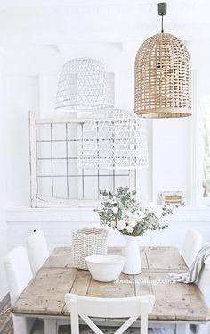 beach cottage baskets