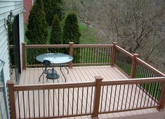 Railings For Decks Fencing Can Be Used As A Balcony