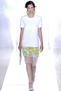 Marni Spring 2012 Ready-to-Wear Collection Slideshow on Style.com. White+floral.